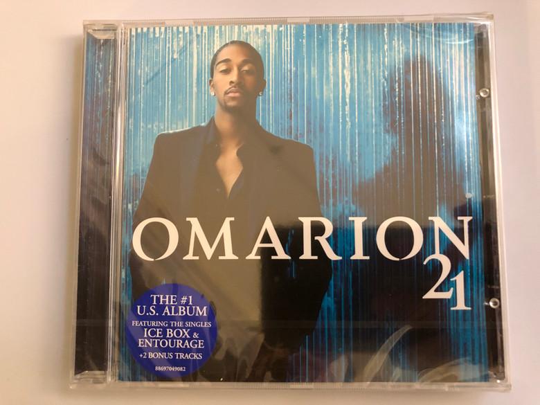 Omarion – 21 / The #1 U.S. Album, Featuring The Singles Ice Box & Entourage + 2 Bonus Tracks / Sony Urban Music Audio CD 2006 / 88697049082