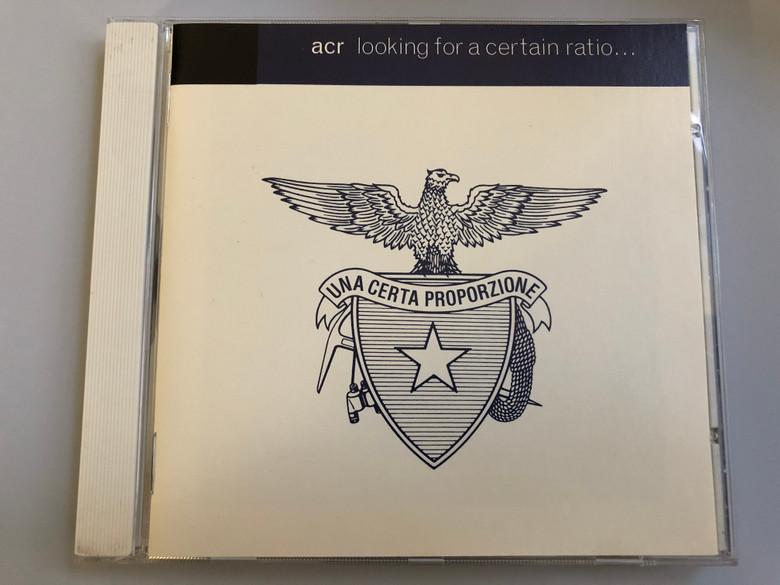 ACR – Looking For A Certain Ratio - Una Certa Proporzione / Creation Records Audio CD 1994 / SCR 474138 2