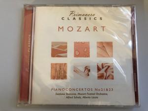 Primavera Classics / Mozart - Pianoconcertos No 21 & 23 / Svetlana Stanceva, Mozart Festival Orchestra, Alfred Scholz, Alberta Lizzia / Luxury Multimedia Audio CD 2006 / 3516072