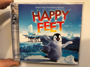 Music From The Motion Picture - Happy Feet / Warner Music Group Audio CD 2006 / 7567-83998-2