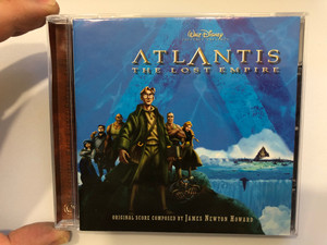 Walt Disney Pictures Presents - Atlantis: The Lost Empire / Original Score Composed by James Newton Howard ‎/ Walt Disney Records Audio CD 2001 / 0927-42333-2