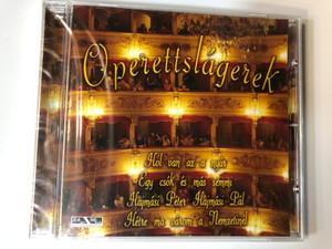 Operettslágerek / Hol van az a nyár, Egy csók és más semmi, Hajmási Péter Hajmási Pál / Közreműködik - Micro Együttes / Membran Music Audio CD 2005 / Famous Hungarian Operetta Songs (4011222233790)