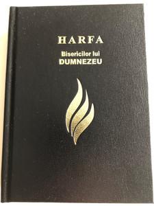 Harfa Bisericilor lui Dumnezeu: colecţie de cântări spirituale / Romanian Christian Hymnal for Churches / 978 Hymns and Songs / The Harp of God's Churches / Romanian Bible Society / 13th edition (9789738983168)