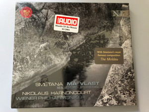 Smetana - Nicolaus Harnoncourt - Má Vlast / Mein Vaterland, My Fatherland / Wiener Philharmoniker / RCA Red Seal 2x Audio CD 2003 / 82876 54331 2