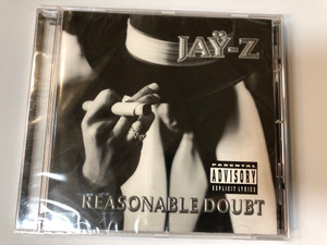 Jaÿ-Z – Reasonable Doubt / Northwestside Records Audio CD 1996 / 74321 44720 2