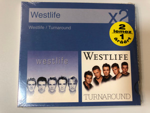 Westlife ‎– Westlife, Turnaround / RCA ‎2x Audio CD 2007 / 82876874772
