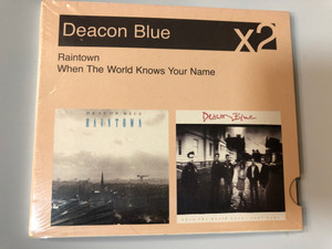 Deacon Blue ‎– Raintown, When The World Knows Your Name / Sony BMG Music Entertainment ‎2x Audio CD 2007 / 886971520521