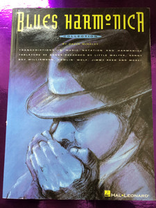 Blues Harmonica Collection by David McKelvy / Transcriptions in music notation and harmonica - Tabulature of Songs - Recorded by little Walter, Sonny Boy Willamson, Howlin' Wolf, Jimmy Reed and more! / Hal Leonard - MS 923 / HL 00660191 (9780793516001)