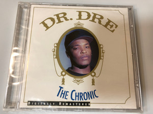 Dr. Dre – The Chronic (Digitally Remastered) / Death Row Records Audio CD 2001 / PDR1001