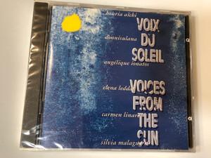 Voix Du Soleil = Voices From The Sun / Houria Aïchi, Donnisulana, Angélique Ionatos, Elena Ledda, Carmen Linares, Silvia Malagugini / Auvidis Tempo Audio CD 1994 / A 6206