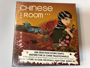 Chinese Room / Une Selection Down Tempo Inspiree Par La Chine Traditionelle / Inclus: I :Cube, Dj Cam, Kid Koala, High Tone, Wang Lei... / Wagram Music Audio CD 2005 / 3108152