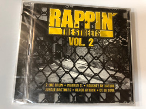 Rappin' The Streets Vol.2 / ZYX Music 2x Audio CD 2000 / ZYX 81264-2