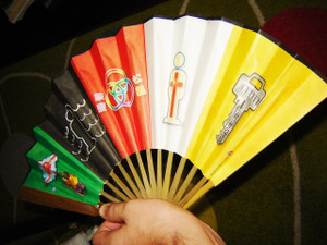 Chinese Gospel Fan / Great tool to share the Gospel with Chinese friends