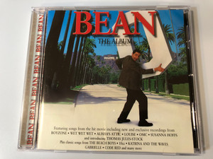 Bean - The Album / Featuring songs from the hit movie including new and exclusive recordings from Boyzone, Wet Wet Wet, Alisha's Attic, Louise, OMC, Susanna Hoffs, and introducing Thomas Jules / Mercury Audio CD 1997 / 553 774-2