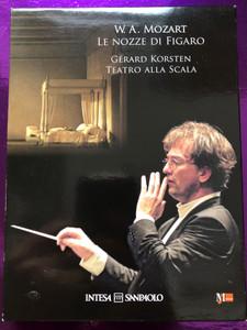 W.A. Mozart - Le Nozze di Figaro DVD & CD 2007 Teatro Alla Scala / Conducted by Gérard Korsten / Directed by Giorgio Strehler / Pietro Spagnoli, Diana Damrau, Monica Bacelli, Jeannette Fischer / Musicom - Vox Imago (LenozzediFigaroDVDCD)