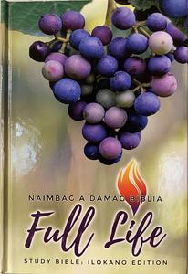 The Full Life Study Bible in Ilokano Langauge / Fire Bible in Ilokano a languege of the Philippines