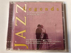 Jazz Legends (The Classic Collection Of Swinging Jazz) / Jelly Roll Morton, Woody Herman, King Oliver Orchestra, Tommy Dorsey, Gene Krupa, Cab Calloway Orchestra and many others / MasterTone ‎Audio CD 1997 / 0079