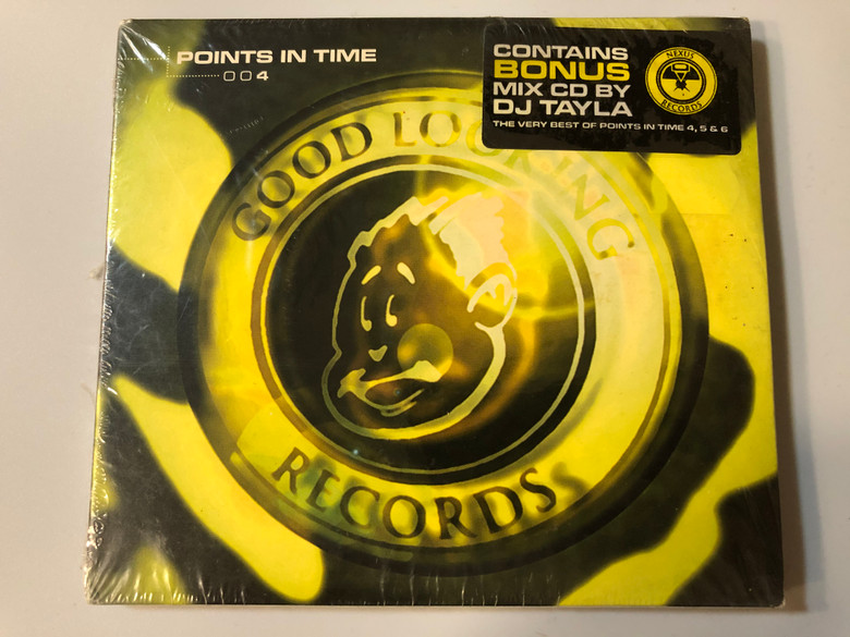 Points In Time 004 / Contains Bonus Mix CD By DJ Tayla, The Very Best Of Points In Time 4, 5 & 6 / Good Looking Records Audio CD / GLRPIT004
