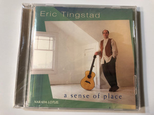 Eric Tingstad ‎– A Sense Of Place / Narada Lotus Audio CD 1995 / ND-61048