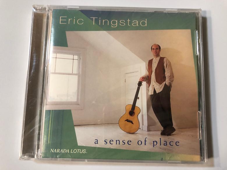 Eric Tingstad – A Sense Of Place / Narada Lotus Audio CD 1995 / ND-61048