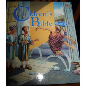 Children's Bible Volume 10 / Words of Wisdom Series / Colorful, beautiful