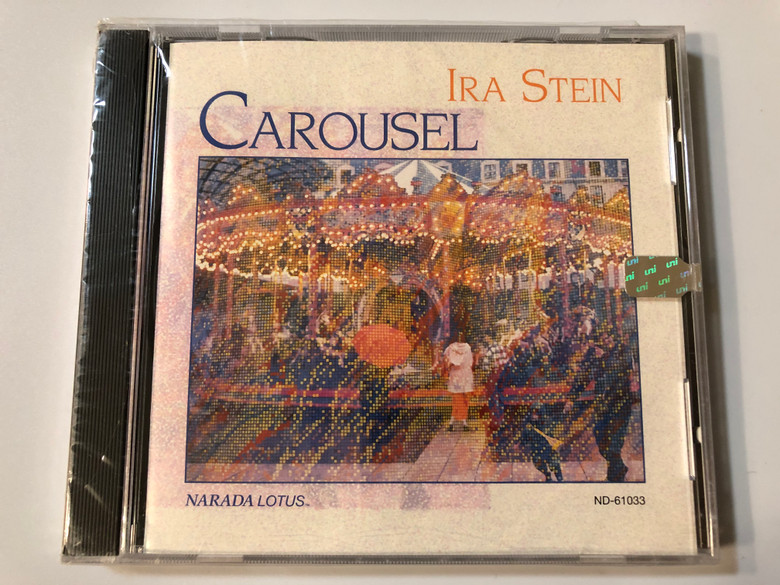 Ira Stein ‎– Carousel / Narada Lotus ‎Audio CD 1992 / ND-61033