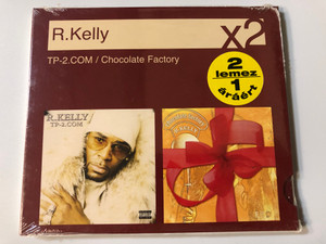 R. Kelly – TP-2.COM, Chocolate Factory / Sony BMG Music Entertainment (UK) Ltd. 2x Audio CD 2007 / 88697146802