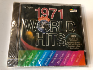 1971 World Hits / The Oldies Collection / Mixtures, Rod Stewart, The Tremeloes, The Temptations, The New Seekers, Mungo Jerry, East Of Eden, James Brown, Spotnicks, Elton John / Spectrum Music Audio CD 1994 / 550 696-2