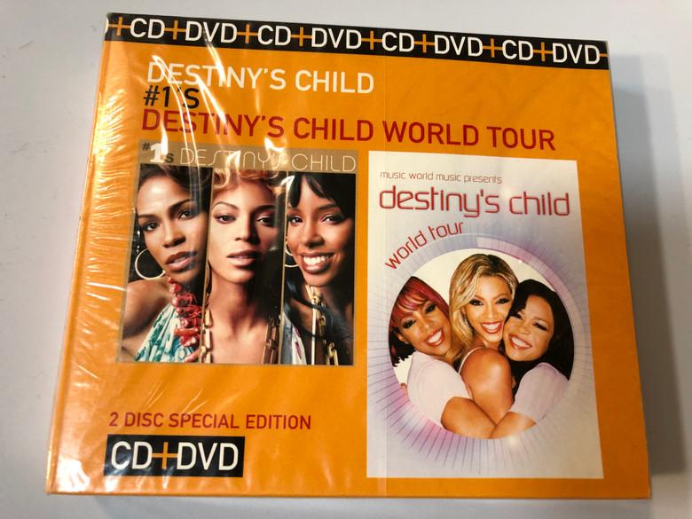 Destiny's Child – #1's / Destiny's Child World Tour / 2 Disc Special Edition / Sony BMG Music Entertainment Audio CD + DVD CD 2008 / 88697373332