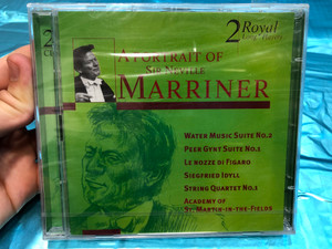 A Portrait Of Sir Neville Marriner / Water Music Suite No.2, Peer Gynt Suite No 1, Le Nozze Di Figaro, Siegfried Idyll, String Quartet No. 1, Academy Of St. Martin-in-the-Fields / Disky Classics 2x Audio CD 1999 / DCL 705972