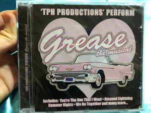 The Productions' Perform - Grease the musical / Includes: You're The One That I Want, Greased Lightning, Summer Nights, We Go Together and many more... / Musicbank Limited Audio CD 2003 / APWCD1012a
