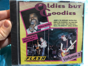 Oldies but Goodies - Percy Sledgo, Johnny & The Hurricanes - Volume 2 / Johnny & The Hurricanes - Red River Rock, Gerry & The Pacemakers - You'll Never Walk Alone, Percy Sledge / Flash Audio CD Stereo / 8312-2