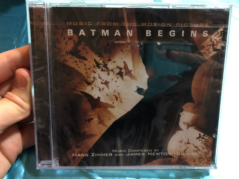 Batman Begins (Music From The Motion Picture) / Music Composed by Hans Zimmer And James Newton Howard / Warner Sunset Records Audio CD 2005 / ZGEN/71324