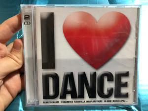 I Love Dance / Benny Benassi, 2 Unlimited, Floorfilla, Warp Brothers, In-Grid, Mario Lopez... / ZYX Music 2x Audio CD 2003 / ZYX 81564-2