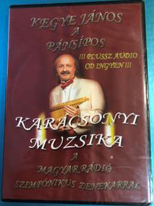 Kegye János a Pánsípos DVD Karácsonyi Muzsika - A Magyar Rádió Szimfónikus Zenekarral / Conducted by Kovács László / Soul DVD 2004101 / Plussz Audio CD Ingyen! (5999882174006)