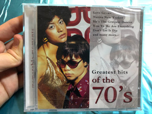 Greatest Hits Of The 70's / Love Grows, Native New Yorker, He's The Greatest Dancer, You To Me Are Everything, Don't Let It Die, and many more... / Exclusive Edition Audio CD 2005 / 5706238326947