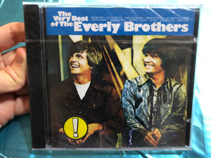 The Very Best Of The Everly Brothers / Bye Bye,Love, ('Til) I Kissed You, Wake Up Little Susie, Crying In The Rain, All I Have To Do Is Dream, Cathy's Clown, Walk Right Back, Bird Dog, Lucille, So Sad / Warner Bros. Records Audio CD / 7599-27161-2