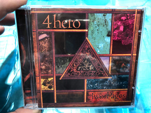 4hero ‎– Two Pages / Talkin' Loud ‎Audio CD 1998 / 558 465-2