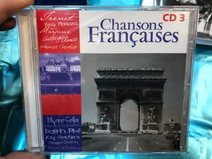 Chansons Françaises - Volume 5 -CD 3 / Maurice Chevalier, Berthe Sylva, Edith Piaf, Henri Salvador, Leo, Tino Rossi, Lucienne Delyle, Jean Sablon, Ray Ventura / Weton-Wesgram Audio CD 2001 / KBOX3281C