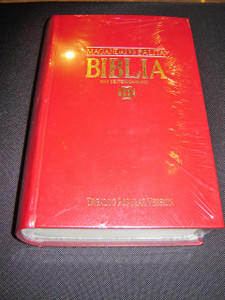 Tagalog Pulpit and Family Bible / BURGUNDY Hardcover Tagalog Bible with Deuterocanonical Books