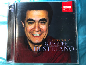 The Very Best Of - Giuseppe di Stefano / EMI Classics 2x Audio CD 2003 Mono / 724358508727