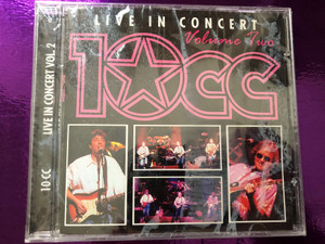 Live In Concert - Volume Two - 10cc / A Play Collection Audio CD 1996 / 10002-2