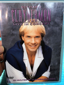 Richard Clayderman DVD 1999 Live in Concert / Directed by Mike Connor / Recorded at the Mayflower Theater, Southampton / LaserLight (018111201131)