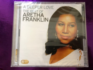 A Deeper Love - The Best Of Aretha Franklin / Camden Deluxe 2x Audio CD 2009 / 88697536552