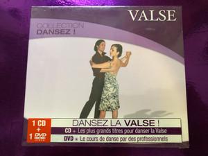 Valse - Collection Dansez! / Dansez La Valse! CD - Les plus grands titres pour danser la Valse / DVD - Le cours de danse par des professionnels / Wagram Music Audio CD + DVD CD 2008 / WAG 737