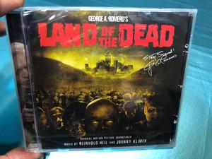 George A. Romero's Land of the Dead - Original Motion Picture Soundtrack / Music by Reinhold Heil and Johnny Klimek / Varese Sarabande Audio CD / VSD -6666 (4005939666620)