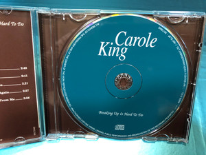 Carole King - Breaking up is hard to do / Elap Audio CD 1997 / Crying in the rain, Song of Long ago, Back to California / Re-Recordings of Original Hits (5706238315613)