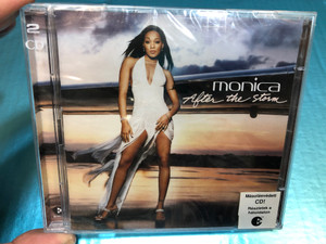 Monica - After the storm 2CD / BMG Hungary Audio CD 2003 / J Records / Get it off, Knock knock, Breaks my heart, Hurts the most (743219628121)