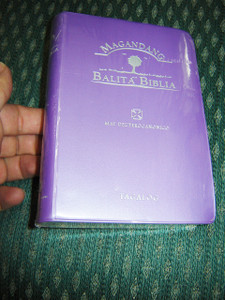 Purple Tagalog Bible Catholic  / Magandang Balita Biblia May Deuterocaninico