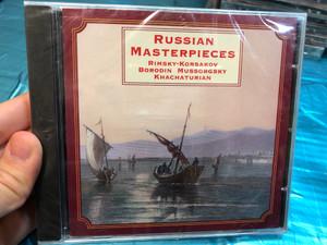 Russian Masterpieces - Rimsky-Korsakov, Borodin, Mussorgsky, Khachaturian / Autograph Audio CD 1997 / MAC CD 929